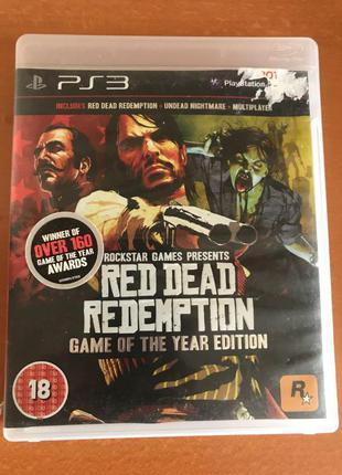 Игра на ps3 Red Dead Redemption