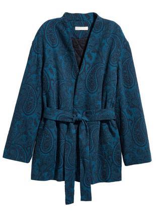 Жаккардовое кимоно  h&m