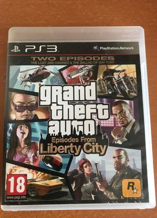 Игра GTA Episodes From Liberty City на ps3
