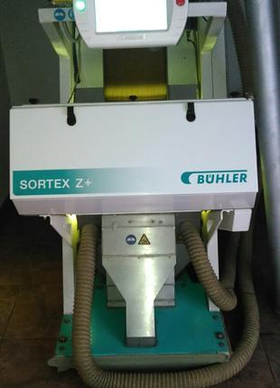 Оптичний сортувальник Buler Sortex Z+ однолотковий в комплекті