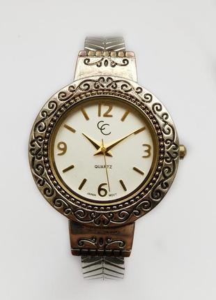Cc часы из сша стальной браслет механизм japan sii