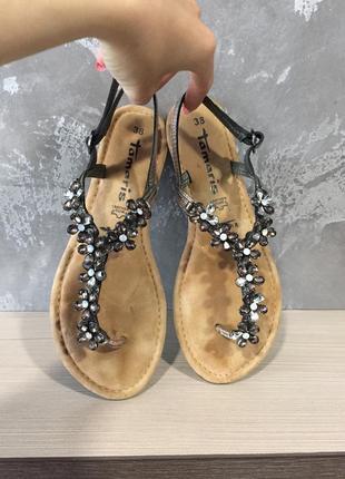 Жіночі босоножки tamaris 38 р