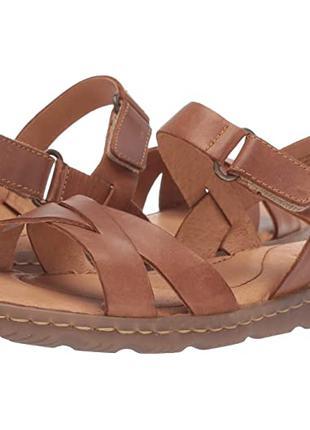 Женские босоножки кожаные сандалии размер 38-39 Born® (США)