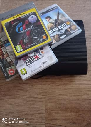 Play Station PS3 super slim 500 gb