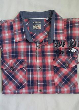 Культовая рубашка Camp David XXXL