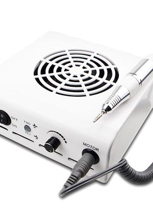Аппарат (фрезер) для маникюра 2 в 1, 80 Вт, 35000 об/мин