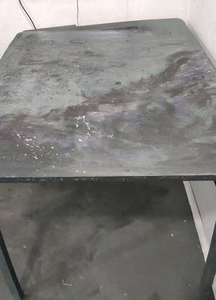 Стол дизайнерский в стиле космос кухонный письменный офисный комп
