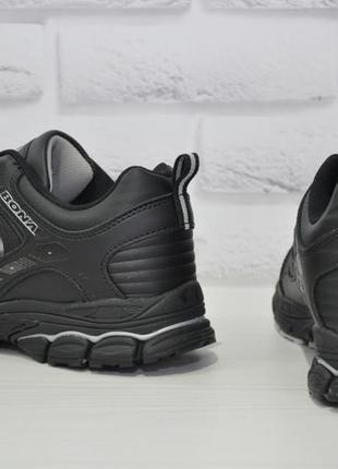 Мужские кожаные кроссовки bona