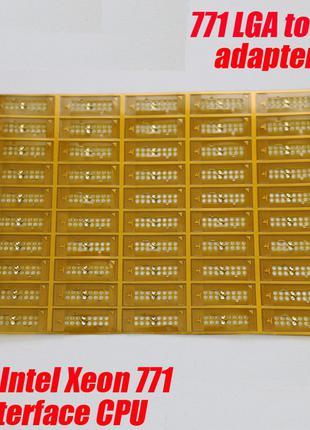 Переходник адаптер для процессоров Xeon 771 в 775 сокет (10шт.)