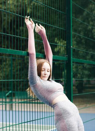 Спортивные костюмы Для йоги и спорта