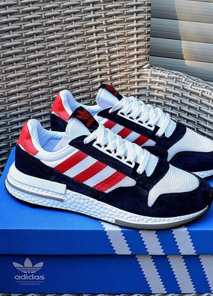 Adidas ZX 500 RM 'Blue\Red\White