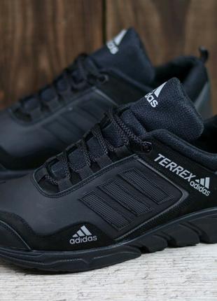 Мужские кожаные кроссовки Adidas 40-45р