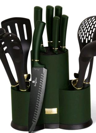 Набор кухонных принадлежностей 12 предметов Emerald Collection