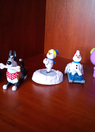 Іграшки із Кіндер Сюрприз і Макдональдс