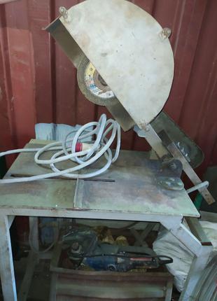 Труборез диск образов Ø 400 мм (без эл. Мотора)