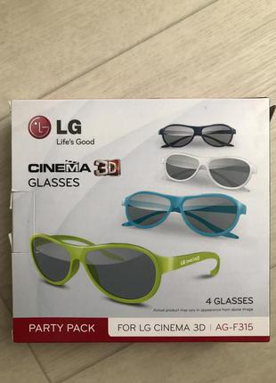 Очки cinema 3D