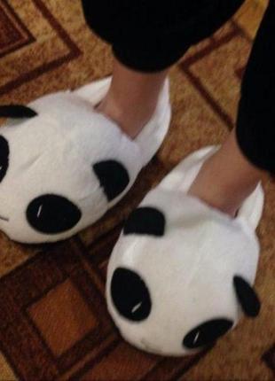 Тапочки Панда  (сзадником)