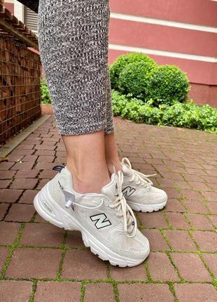 Кроссовки женские new balance 530 beige 🌶