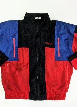 Adidas винтажная ретро куртка