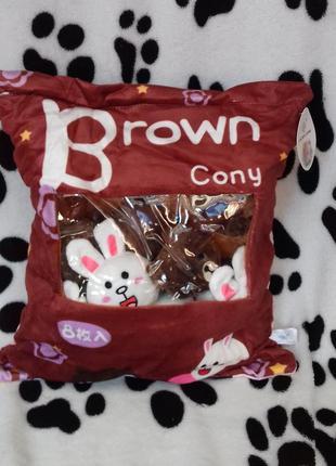 Детская подушка с сюрпризом