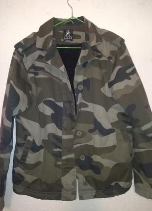 Куртка утепленная в стиле милитари atmosphere