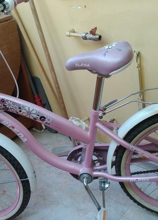 Детский велосипед RUEDA 20 дюймов, для девочки