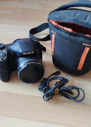 Продам фотоаппарат Sony Cyber-Shot DSC-H300 Black