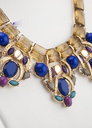 Колье magik - с камнями - красивое ожерелье stock