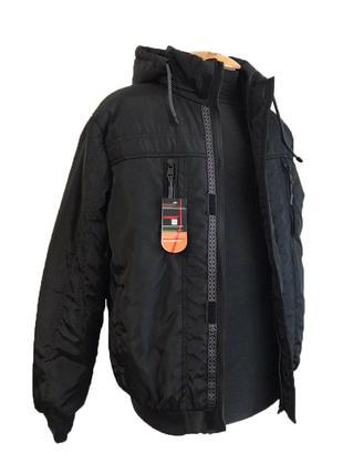Куртка мужская весенняя (осенняя) черная, мужская ветровка на ...