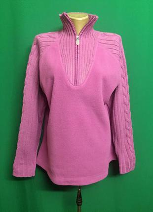 Флисовый свитер реглан 2 fit tu