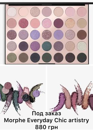 Палетка morphe everyday chic artistry