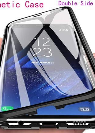 Магнитный чехол 360 Samsung S8 S9 S10 e S20 Plus Ultra Note 8 9