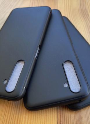 Тонкий матовый силиконовый чехол Realme 6 Pro x50 Pro Pocophon...