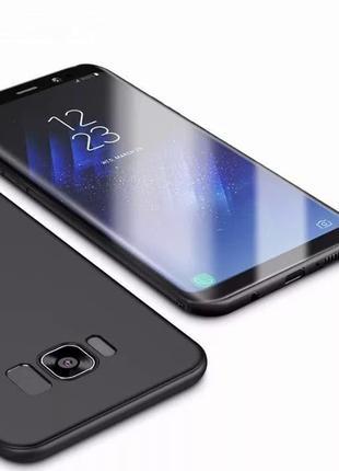 Тонкий матовый чехол Samsung s7 edge s8 s9 s10e s10 s20 plus u...