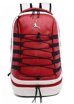 Рюкзак jordan retro 10 red портфель красный сумка ранец женски...