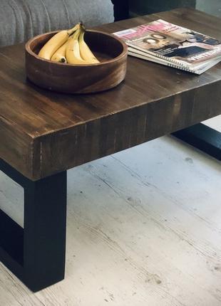 Журнальный (кофейный) стол Лофт, Индастриал, Loft, Industrial