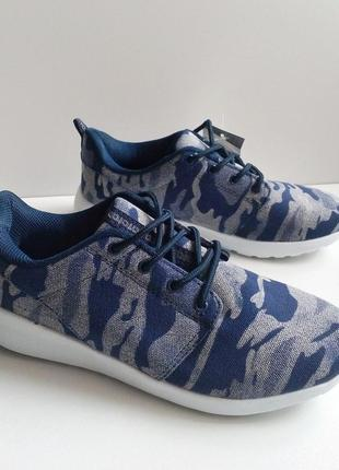 Мужские кроссовки military dark blue