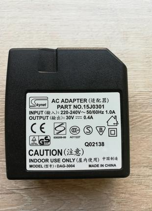 Блок питания 30V 0.4A (DAG-3004)