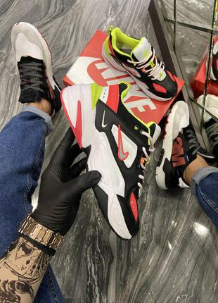 Кроссовки Nike M2K Tekno Black White Red