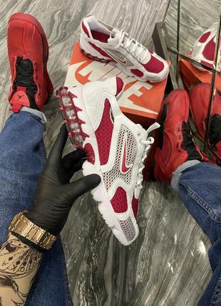 Кроссовки Nike Air Zoom Spiridon Cage 2 Stussy White Red