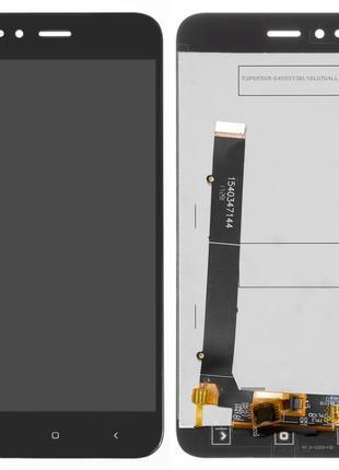 Дисплей Xiaomi Mi A1/ Mi5x с сенсором Черный/ Белый
