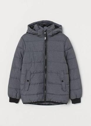 Теплая куртка для мальчика h&m