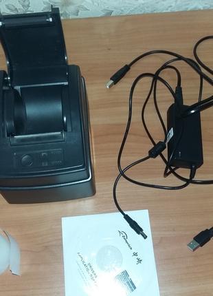 Принтер чеков, pos принтер, штрих-кодов, штрихкодов,  штрих кодов