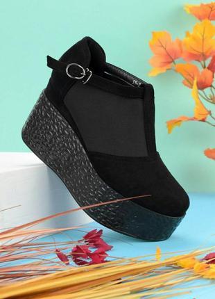 Шикарные туфли на платформе