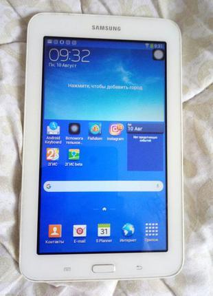 "Планшет Samsung Galaxy Tab 3 SM-T110 7"" 8Gb"