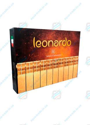 Биметаллический радиатор отопления LEONARDO (Италия) 500/100