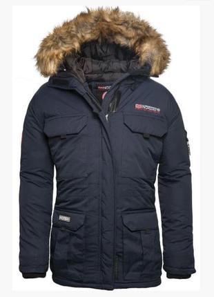 Мужская куртка парка geographical norway