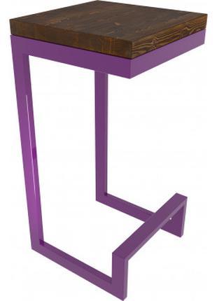 Табурет, барний стілець в стилі лофт на замовлення, інтер'єр