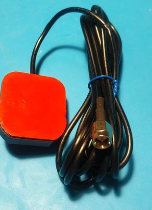 GPS антенна для автомагнитолы на разъеме SMA