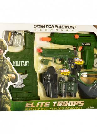 Детский игровой набор военного Военная экипировка арт. M013A